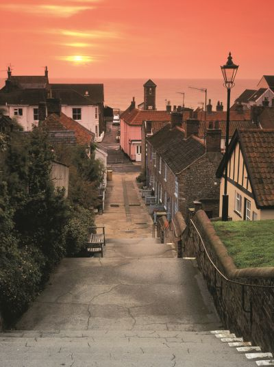 This is the seaside town of Aldeburgh in Suffolk, UK a charming Elizabethan town, stop at the Cragg Sister's Tea shop for afternoon tea