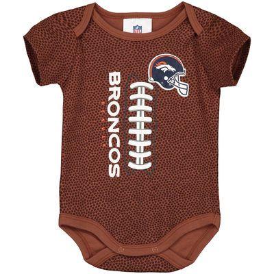 Denver Broncos Newborn & Infant Football Bodysuit - Brown