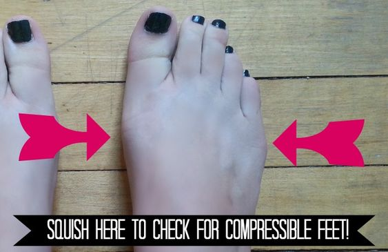 Determining Compressible Feet  PointePerfect.com