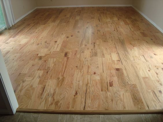 This beautiful natural red oak hardwood is rustic and for Rustic red oak flooring