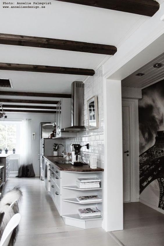 kök, köksbänk, köksbänkar, hth, köket, kökets, grått, svart oh ...