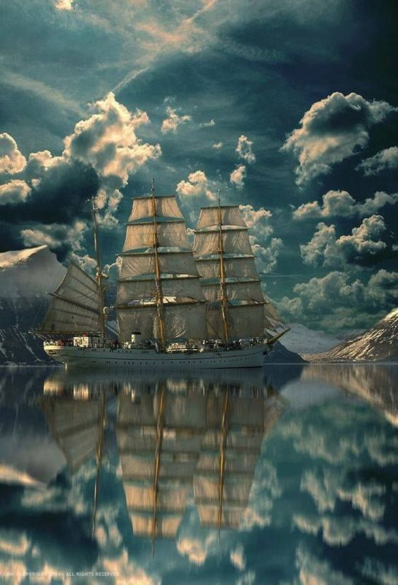 I love tall ships, such beauty:
