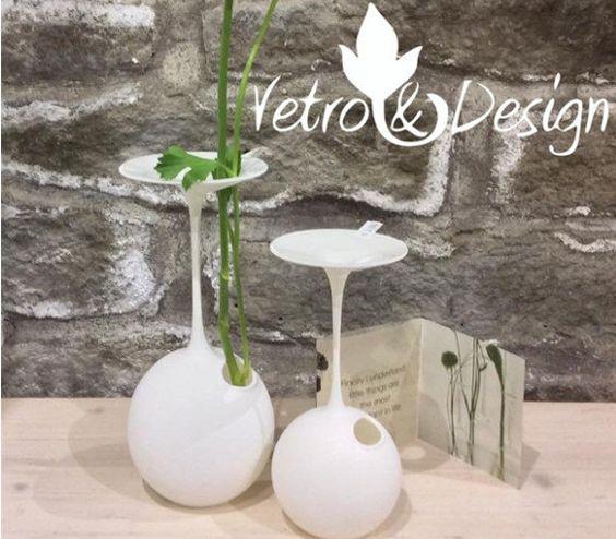 Vaso Monofiore Bicchiere  Piccolo in Vetro di vetroedesign su Etsy