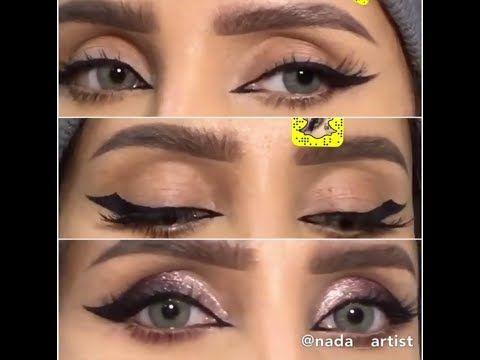 ثلاث رسمات مختلفه مع شرح لاشكال العيون الجزء الاول Youtube Makeup Halloween Face Makeup Halloween Face