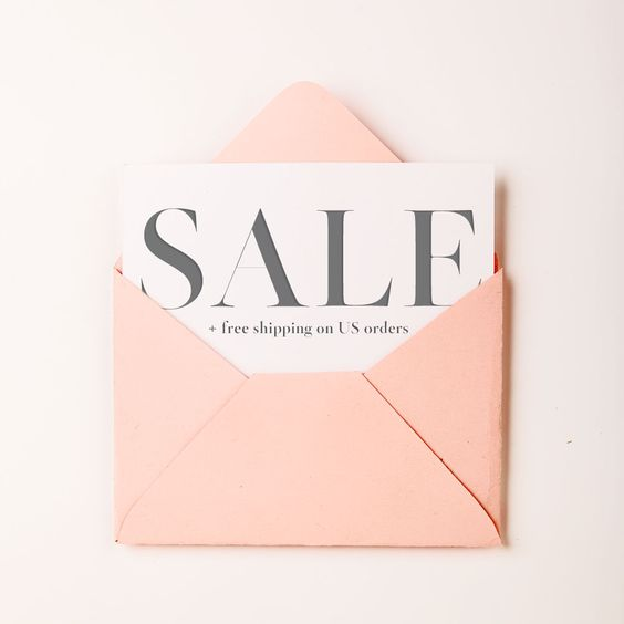 Our favorite kind of mail day- Markdowns on everything from gowns to décor + Free Shipping on all standard US orders! Use code: ships4free at checkout (valid through 7/12/15)