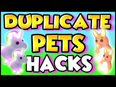 Hacks To Duplicate Pets To Make Mega Neons Fast In Adopt Me Roblox Prezley Adopt Me Youtube Pet Hacks My Roblox Adoption