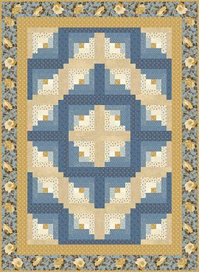 Barn Raising Quilt Pattern Free Knitting : Log cabins, Log cabin quilts and Logs on Pinterest