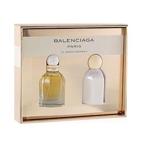 balenciaga paris perfume gift set eau de parfum spray body lotion balenciaga. Black Bedroom Furniture Sets. Home Design Ideas