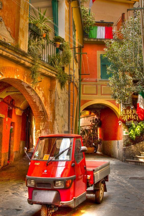 Monterosso- Cinque Terre - Liguria, Italy                              …