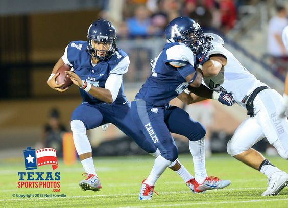 The Allen Eagles defeated the Denton Guyer Wildcats by a score of 48-16 in the Tom Landry Classic played at Eagle Stadium, Allen, Texas on August 28, 2015