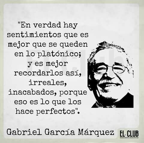 Pin De Adria En Spanish Quotes Garcia Marquez Frases