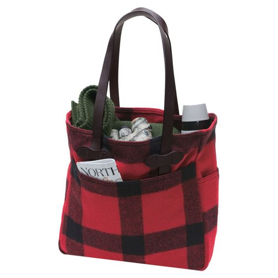 Cabin Tote in Red