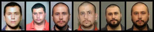 """George Zimmerman has been arrested like every year. But Trayvon Martin was the """"thug,"""" right?"""