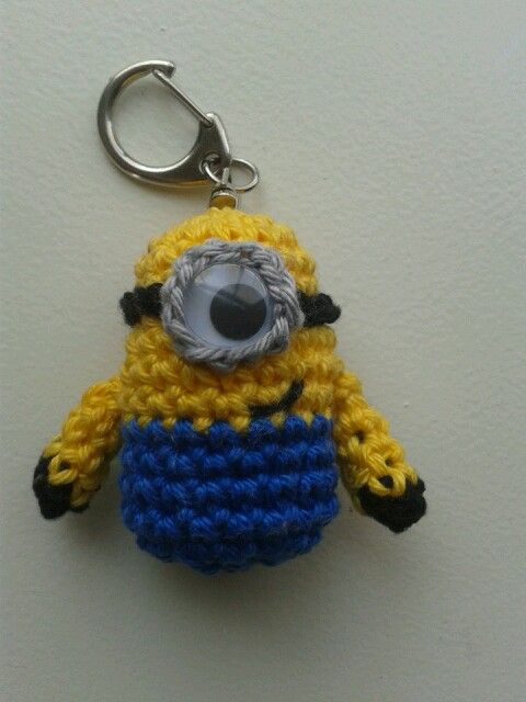 Crochet, Minions and Crochet minions on Pinterest