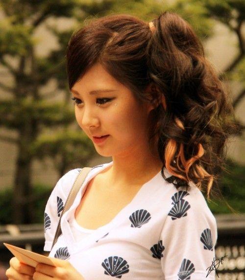 cách buộc tóc dài dễ thương