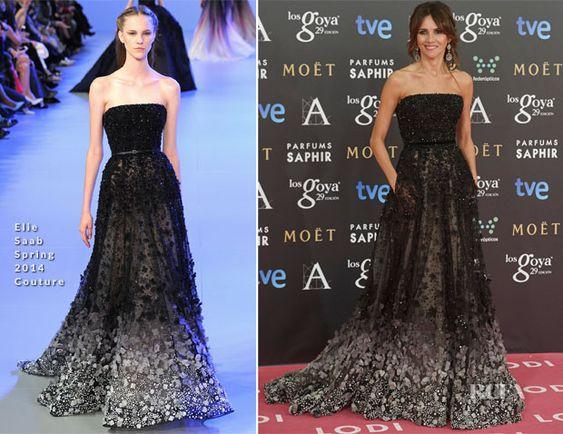 Goya Toledo In Elie Saab Couture – 2015 Goya Awards