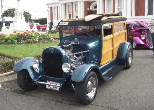 1929 Ford Model A Woody Wagon..Re-pin Brought to you by #HouseofInsurance for #AutoInsurance #EugeneOregon