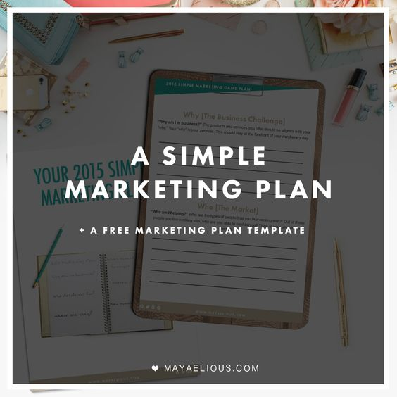 A simple marketing plan to apply to your business