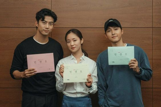 Song Joong Ki, Jeon Yeo Bin, 2PM's Taecyeon, And More Hold Script Reading For Upcoming Drama