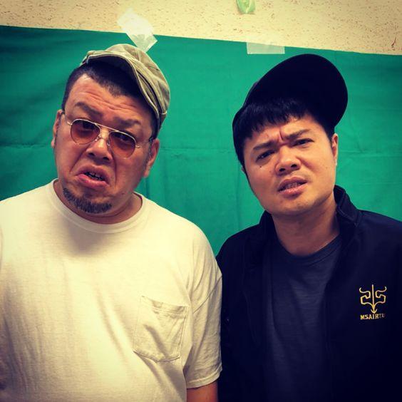 バットボーイズの佐田さんとくっきー