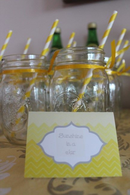 We Heart Parties: You Are My Sunshine Baby Shower Sprinkle