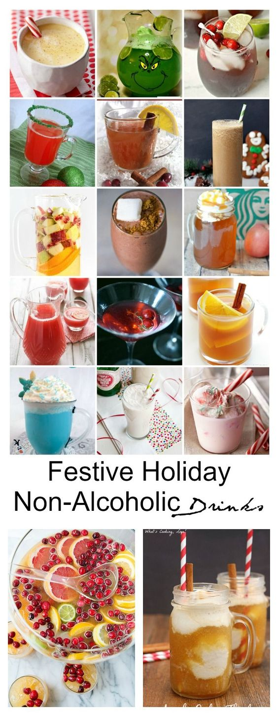Today I have rounded up 25 delicious Festive Holiday Non-Alcoholic Drinks that you can enjoy as well as your kids.