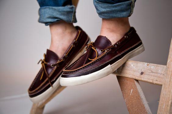 Timeless. Vans Vault 2012 Fall Piragua Horween LX Boat Shoe | Hypebeast