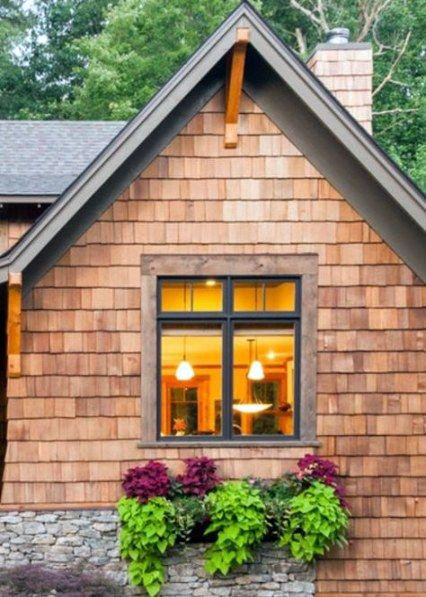 Stunning Ideas For A Cedar Siding Panels That Will Blow Your Mind Window Trim Exterior Cottage Exterior House Exterior