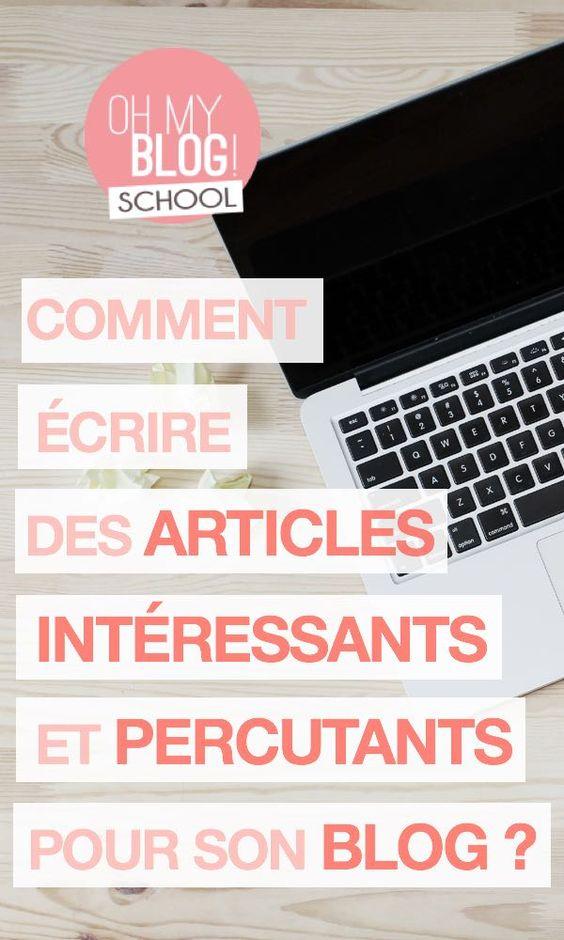 Quel que soit le sujet de notre blog, ce n'est pas évident d'avoir toujours de l'inspiration et des sujets passionnants à partager avec le monde entier !  Il arrive que l'on se retrouve devant une page blanche sans trop savoir quoi écrire. Mais il y a plein d'astuces pour stimuler sa créativité et quelques règles à respecter pour rédiger des articles percutants, utiles et intéressants. Rejoins Blogschool.fr pour apprendre à créer, développer et monétiser ton blog !