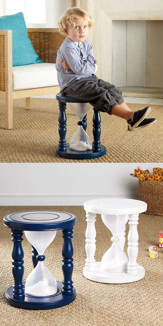 Ampulheta de sentar ( Marque o tempo que seu filho ficará de castigo )