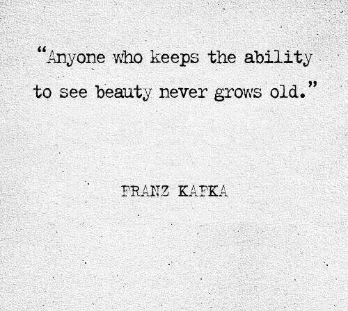 Kafka Quote Meaning Of Life: Franz Kafka Quote. Never Grows Old