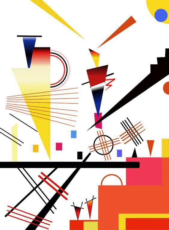 merry structure - Kandinsky