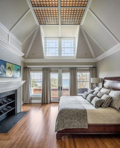 Schlafzimmer Ideen Hohe Decken