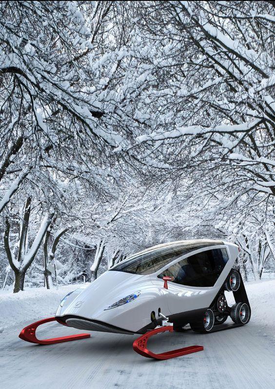 cool snowmobile
