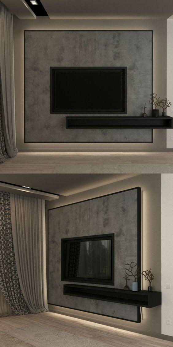 23 Best Modern Tv Units Design For Living Rooms Modern Tv Unit Designs Wall Tv Unit Design Living Room Tv Unit Designs #tv #unit #living #room