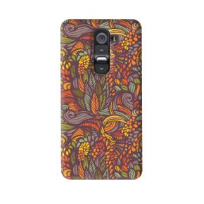 Petunia Pattern Case For LG G2