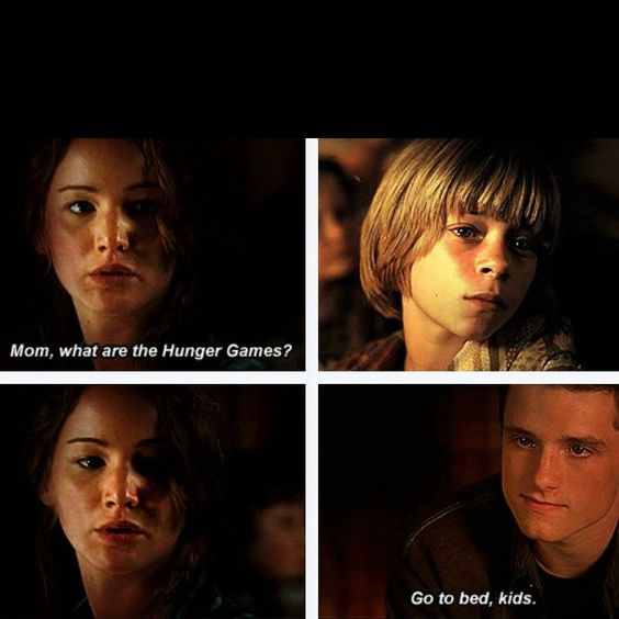 This almost made me cry... ( btw Katniss and peetas kids ...