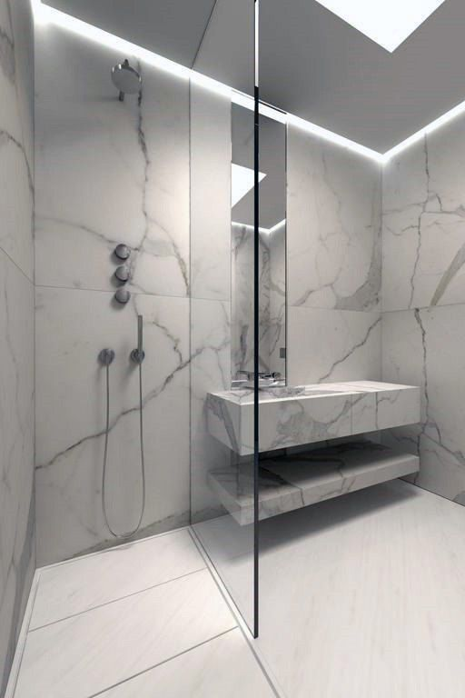 You Want Create Something Marbleous Start With Your Bathroom You