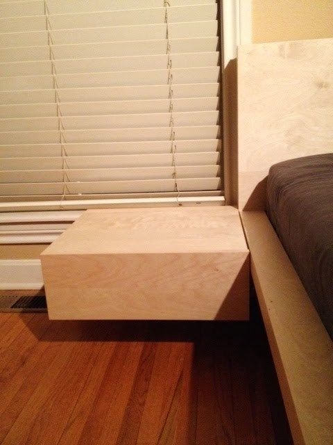 Malm King Bed With Floating Nightstands Ikea Hackers Floating