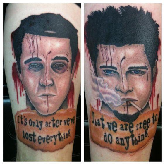 Fight club street tattoo and tattoos gallery on pinterest for 15th street tattoo