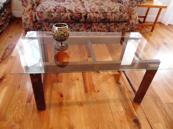 Repurposed ladder coffee table home decore pinterest for Ladder coffee table