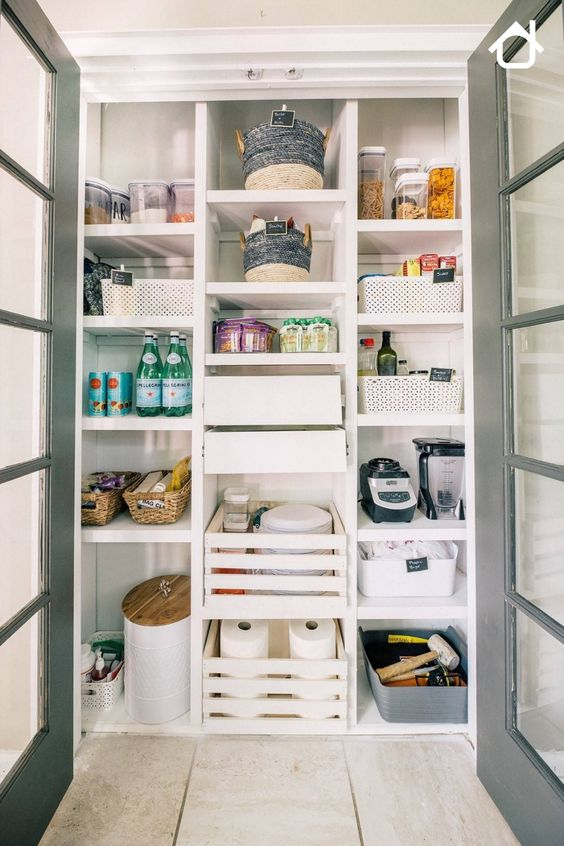 Pantry shelving is a necessary fixture to accommodate all your essentials. So, if you are looking for functional and stylish shelves for inspiration, here are some cool ideas for you.