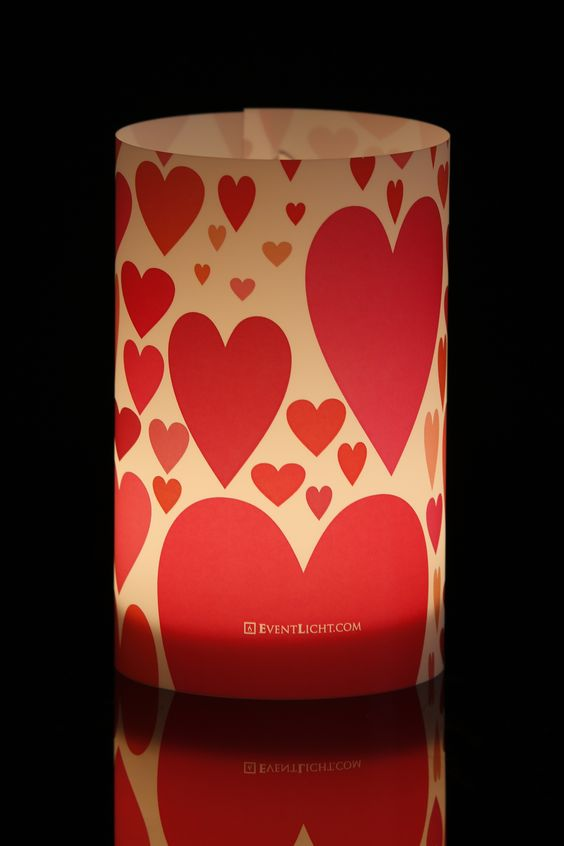 Muttertagslicht, Valentinstag, Eventlicht, Windlicht, Sensus, Heart, love, red, motherday, http://www.eventlicht.com/