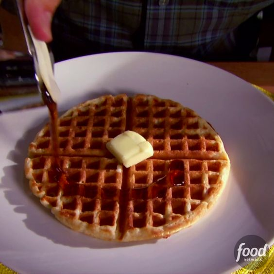 Oat waffle recipe brown recipe and waffles for Alton brown oat cuisine
