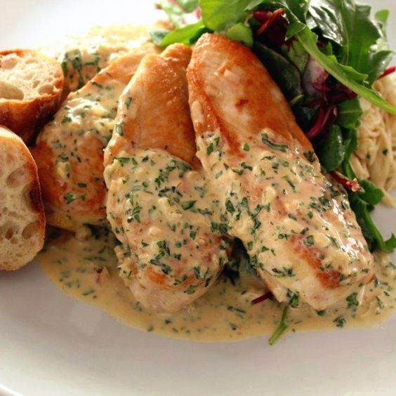 Chicken Breasts With Dijon Herb Sauce | Recipe | Chicken Breasts ...