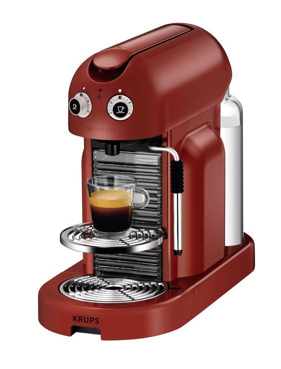 Expresso KRUPS Maestria Rouge pour les amoureux de café http://www.but.fr/produits/71836/Expresso-KRUPS-YY1800FD-Maestria-Rouge.html