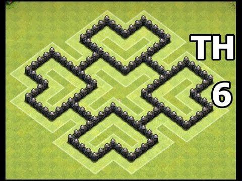 clash of clans base setup level 6