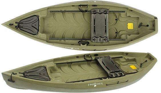 Nucanoe frontier fishing kayak review fishing kayak for Fishing kayaks reviews