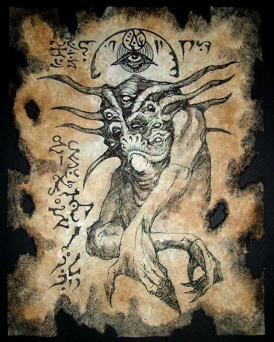 El Necronomicón,un libro salido de los infiernos A414b4c8a114748bd15e015aa4943c8d