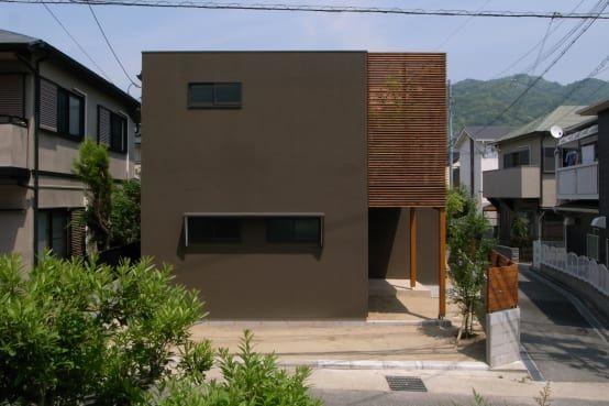 庭が無くても開放感が感じられる家 マイホーム 外観 住宅 外観 家